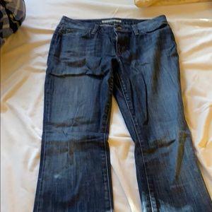 Straight leg joe's jeans size 30w